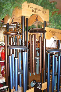 Wind chimes, bird houses, Christmas candles, and more at Motley's Christmas Tree Farm, Little Rock & Central Arkansas